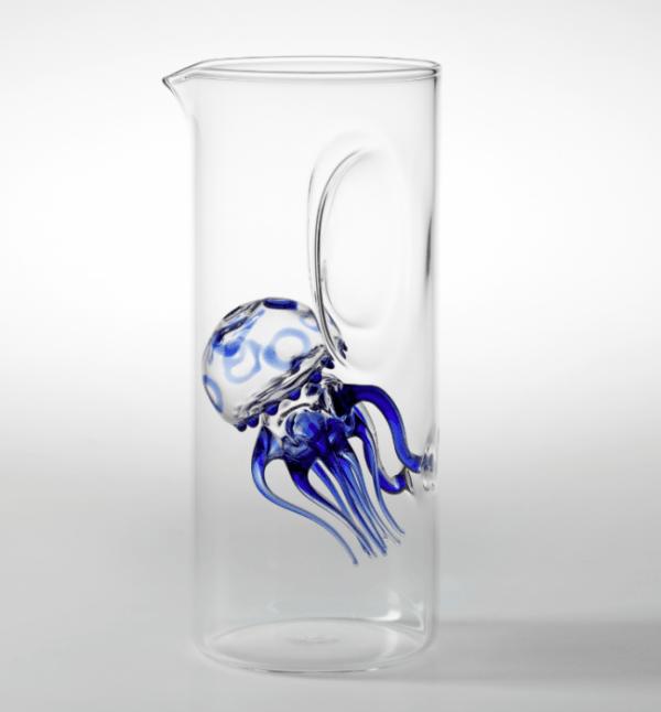 Caraffa Medusa Blu