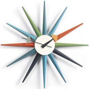 Orologio Sunburst Clock Multicolor