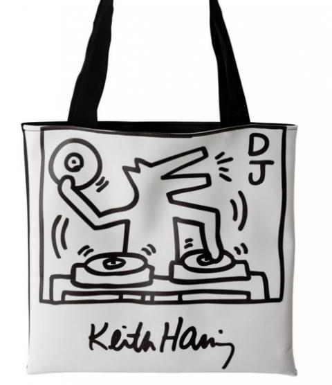"""Borsa """"DJ"""" K. Haring"""