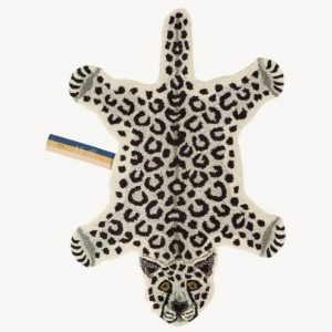 Tappeto Leopardo-Snowy Piccolo Tapis-Amis