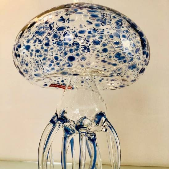 Decanter Medusa-blu Massimo Lunardon-sotto
