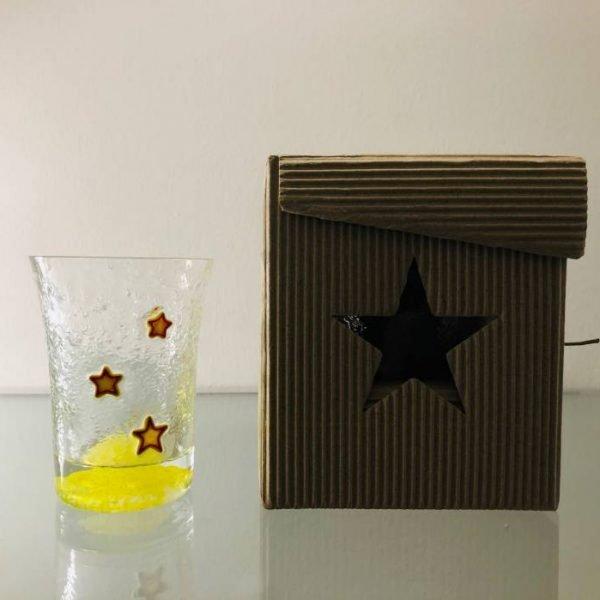 Bicchiere da bibita Sanpellegrino-e-scatola
