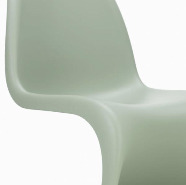 Panton Chair Vitra Soft-Mint-particolare